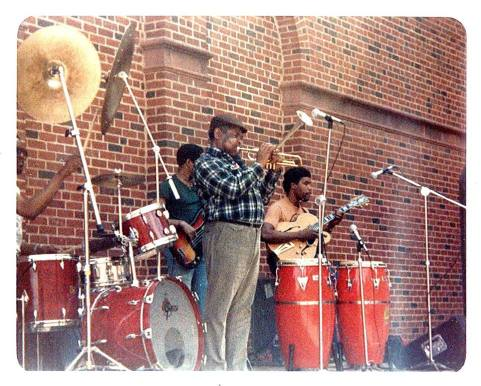 Dizzy Gillespie Group (Ed Cherry , Micheal Howell and Tommy Campbell)