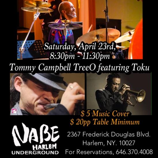 Tommy & Toku@NABE HARLEM 4:23:16 AD
