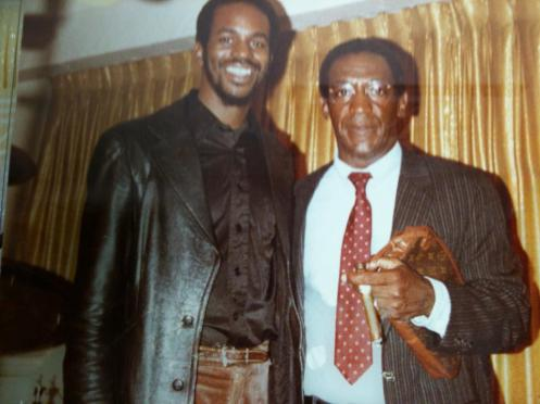 TC & Bill Cosby in Denver,CO. 80's