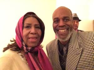 Tommy & Aretha Franklin 3:14:15 at NJPAC (backstage)