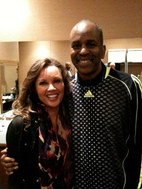 Vanessa Williams and Tommy Campbell