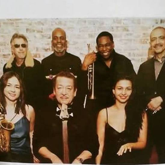 Dizzy Gillespie A.SC.E. With Sharel Cassity, Roger Squitero, Tommy Campbell, John Lee, Abelita Mateus and Mario Grillo.