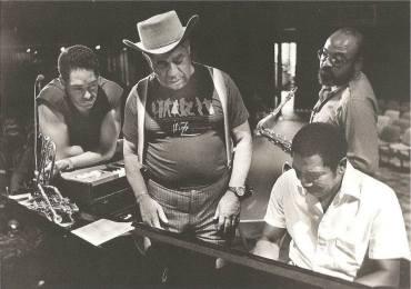 Dizzy,Moody uncle Jimmy and Jon Faddis (Switzerland (late 80?s)
