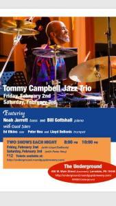 Tommy Campbell LANSDALE GIGS (2:2 & 3