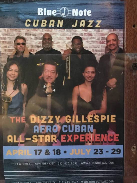 Dizzy Gillespie Afro Cuban Expierence BN nyc