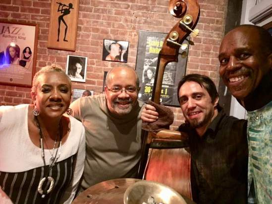 Alyson Williams,Nat Adderley, Jr. and Trifon Dimitrov.Tommy Campbell