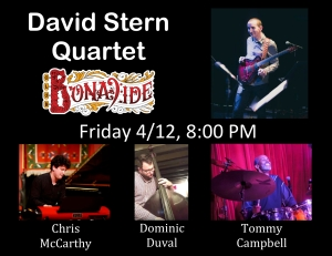 David Stern Quartet Flyer