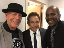 Bruce Willis _ and Ben Stiller Movies at Apollo Theater.