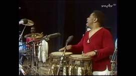 Dizzy Gillespie & Tommy Campbell Percussion duo East Berlin 1981 (#1)