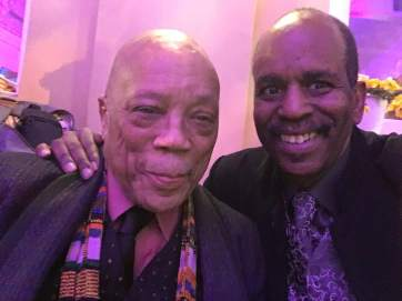 Quincy Jones & Tommy Campbell at Apollo Theater April 4th,2019.(#1)