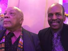 Quincy Jones & Tommy Campbell at The Apollo Theater 4:4:19 (#2)