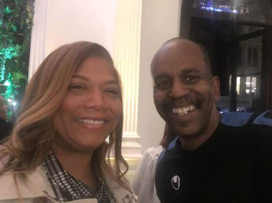 Tommy Campbell & QueenLatifah at Joe's Pub