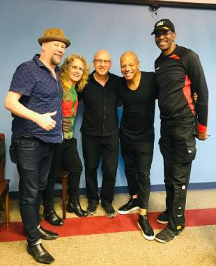 Mark Whitfield.Lincoln Goines, Paul Bollenback, Sheryl Bailey and Tommy Campbell at The Philadelphia Clef Club 7:20:19