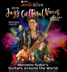 Monnette Sudler Guitars Around The World Festival in Philly 7:20:19