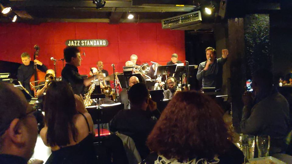 Jimmy Fallon from The Tonight Show sat in with Mingus Big Mingus Big Band 1:13:2020 And it was a great set as Jimmy Fallon sat-In with Tommy Campbell and Alex Foster.