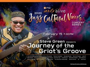 Steve Green Griot's Of The Groove Concert Promo (Feb 15th,2020 CLEFF CLUB in PHILLY