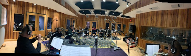 Mingus Big Band Recording Session #1