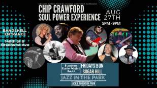 Chip Crawforn Soul Power Experience POSTER