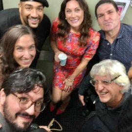 Laura Benanti and band
